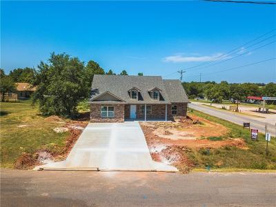 Blanchard OK Single Family Home For Sale: $178,900