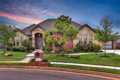Edmond Single Family Home For Sale: 17608 Melville Lane
