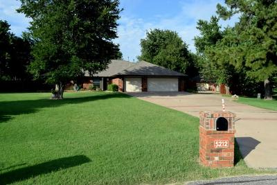 Edmond Single Family Home For Sale: 5212 Dalton Circle