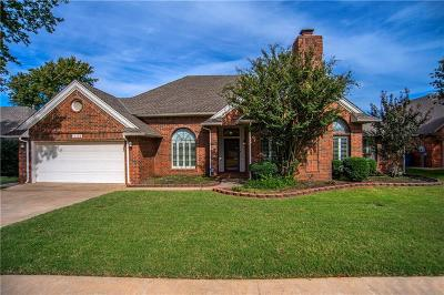 Edmond Single Family Home For Sale: 1405 Lamplighter Lane