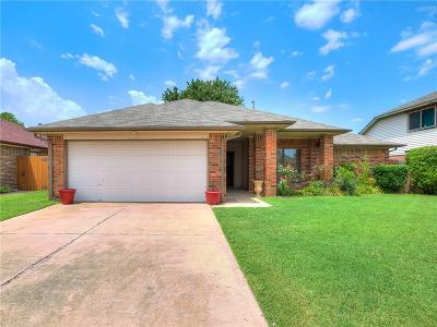 Oklahoma City Single Family Home For Sale: 15117 Todd Way