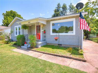 Norman Single Family Home For Sale: 908 Iowa