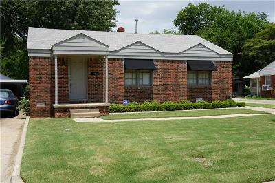 Oklahoma City OK Single Family Home For Sale: $110,000