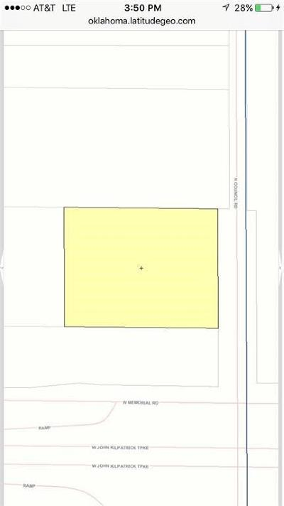 Oklahoma County Residential Lots & Land For Sale: N Council Rd