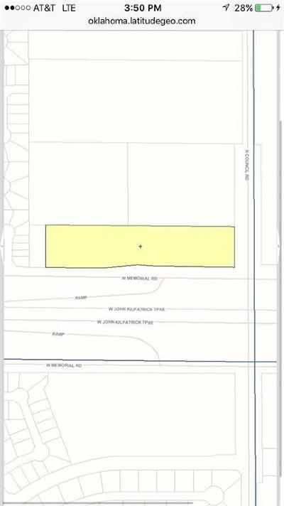 Oklahoma County Residential Lots & Land For Sale: Memorial Rd