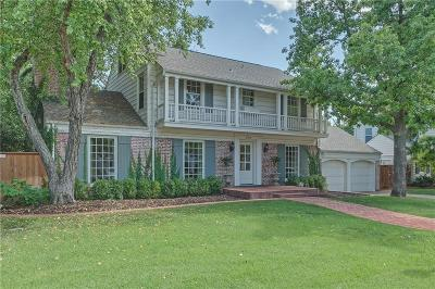Nichols Hills OK Single Family Home For Sale: $1,100,000