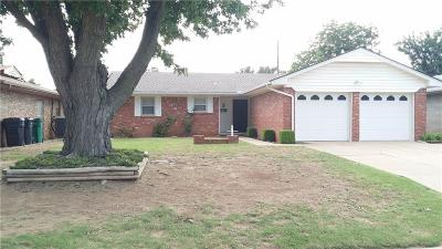 Oklahoma City OK Single Family Home For Sale: $106,900