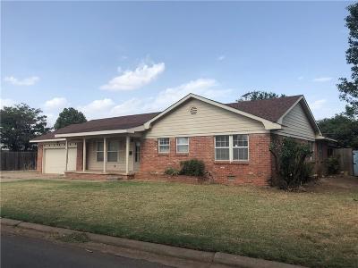 Altus Single Family Home For Sale: 1812 N Willard