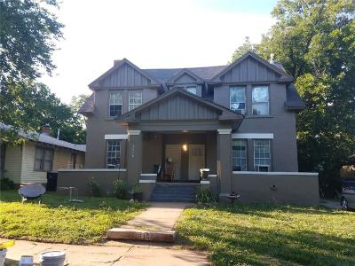 Oklahoma City Multi Family Home For Sale: 1815 W Park