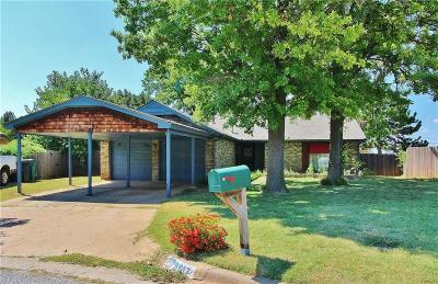 Oklahoma City OK Single Family Home For Sale: $147,000