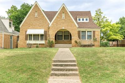 Oklahoma City OK Single Family Home For Sale: $162,500