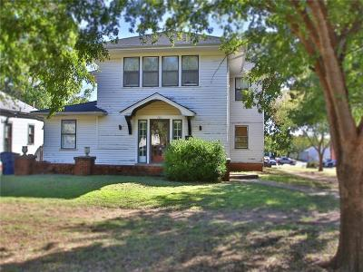 Guthrie Single Family Home For Sale: 701 E Cleveland