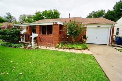 Midwest City Single Family Home For Sale: 304 E Rose Drive