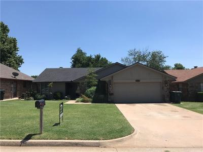 Midwest City Single Family Home For Sale: 10520 Ricky Lane