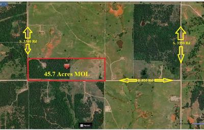 Carney OK Residential Lots & Land For Sale: $92,500
