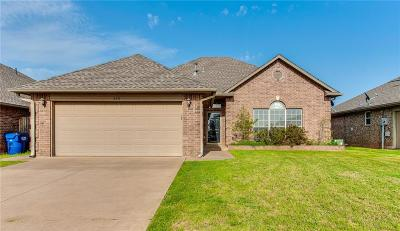 Mustang Single Family Home For Sale: 320 S Castle Ridge Lane