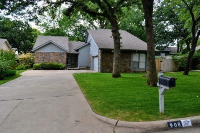 Oklahoma County Single Family Home For Sale: 908 Dover Drive