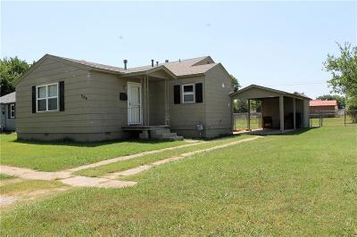 Stroud OK Single Family Home For Sale: $58,000