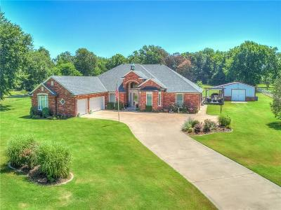 Choctaw Single Family Home For Sale: 300 S Indian Meridian