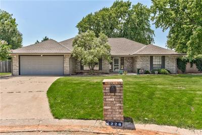 Oklahoma City Single Family Home For Sale: 4228 Mellow Hill