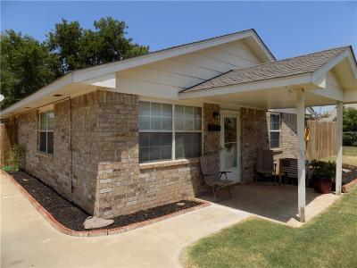 Chickasha Single Family Home For Sale: 520 W Virginia