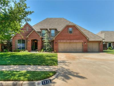 Edmond Single Family Home For Sale: 1315 Boomer Trail