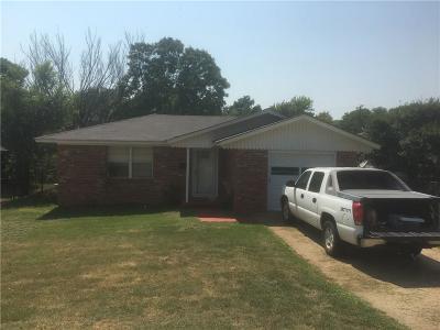Cordell Single Family Home For Sale: 910 N Market Street