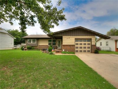 Midwest City Single Family Home For Sale: 1713 Symphony Lane