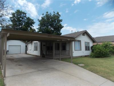 Oklahoma City Single Family Home For Sale: 2918 NW 20th Street