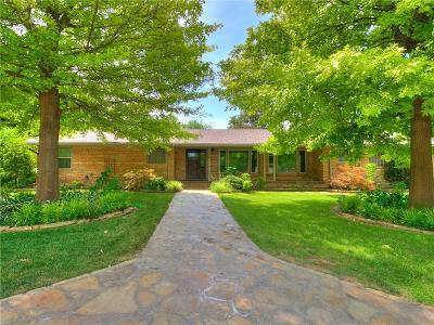 Norman Single Family Home For Sale: 1200 Woodland Dr.