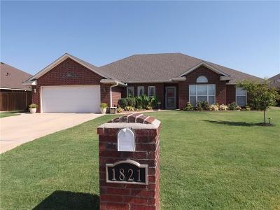 Altus Single Family Home For Sale: 1821 Foxtail Circle