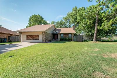 Midwest City Single Family Home For Sale: 1717 Crest Circle