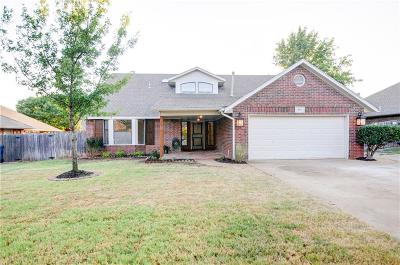 Lincoln County, Oklahoma County Single Family Home For Sale: 813 Millies Trail