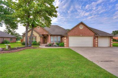 Choctaw Single Family Home For Sale: 13101 Fairway Drive