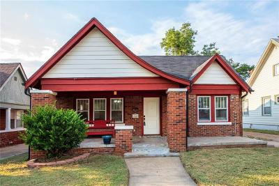 Oklahoma City Single Family Home For Sale: 1939 NW 20th Street