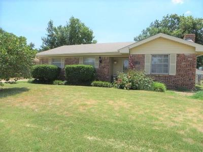 Chickasha Single Family Home For Sale: 123 Ruskin