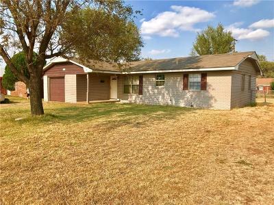 Altus Single Family Home For Sale: 1036 S Park