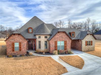 Choctaw Single Family Home For Sale: 910 Hunters Hollow