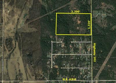 Wellston Residential Lots & Land For Sale: 101285 S Highway 102