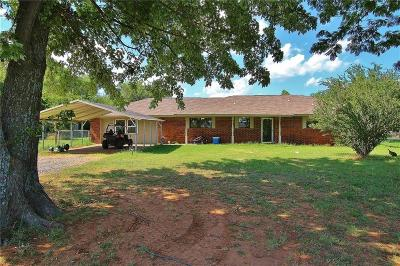 Tuttle Single Family Home For Sale: 1986 County Road 1210