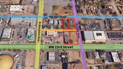 Oklahoma City Residential Lots & Land For Sale: 1001 NW 23rd Street
