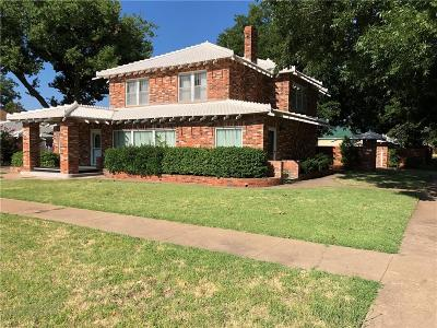 Chickasha Single Family Home For Sale: 302 S 6th Street