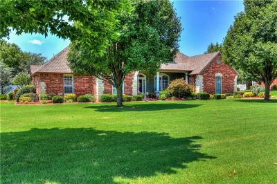 Choctaw Single Family Home For Sale: 1375 Hidden Valley Lane