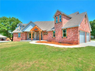 Blanchard OK Single Family Home For Sale: $399,500