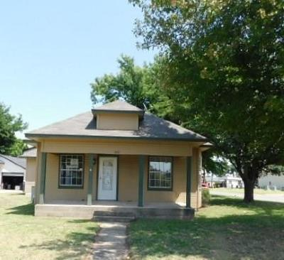 Canadian County, Oklahoma County Single Family Home For Sale: 1207 S Barker