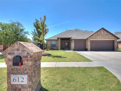 Moore Single Family Home For Sale: 612 Sally Court