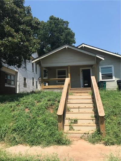 Oklahoma City Single Family Home For Sale: 1215 NW 8th