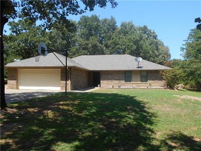 Chandler OK Single Family Home For Sale: $169,900