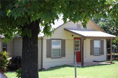Blanchard OK Single Family Home For Sale: $85,000