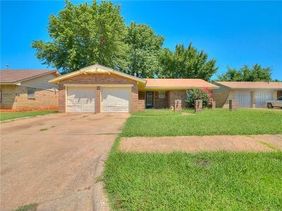 Midwest City Single Family Home For Sale: 809 Meadowgreen Drive